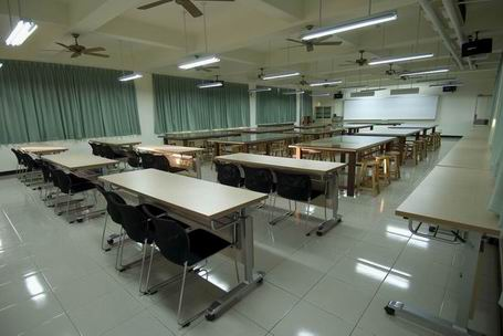平面设计专业 教室 (455x304)-教室设计 高中教室设计 教室墙面设计图片
